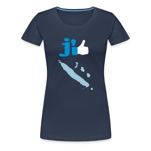 J'aime la Nouvelle Calédonie  - T-shirt Premium Femme