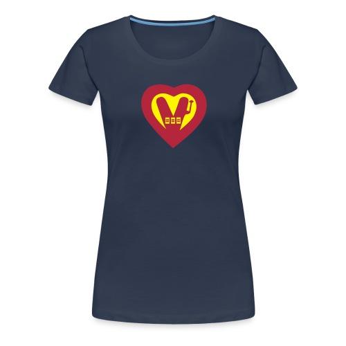 super Vegan - Women's Premium T-Shirt