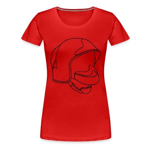 Casque F1 - T-shirt Premium Femme