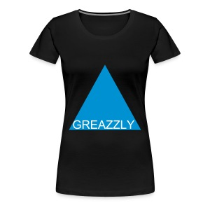 GREAZZLY SHIRT GIRLIE BLACK - Frauen Premium T-Shirt