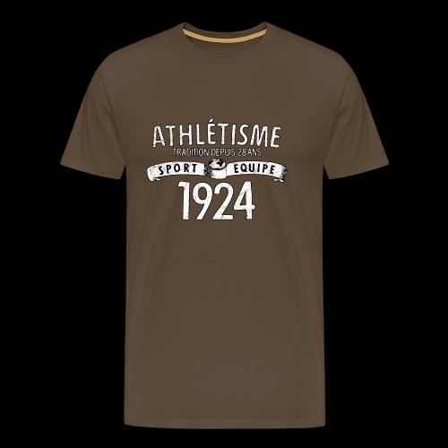 Sport Equipe 1924 (white oldstyle) - Männer Premium T-Shirt