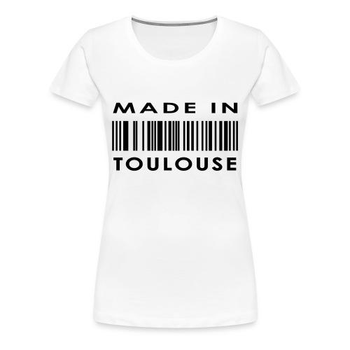 T-shirt basique made in Toulouse femme - T-shirt Premium Femme