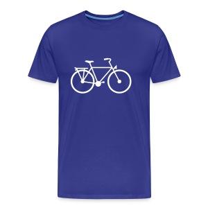 Fiets - Mannen Premium T-shirt