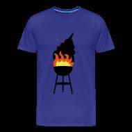 T-shirts ~ Mannen Premium T-shirt ~ BBQ