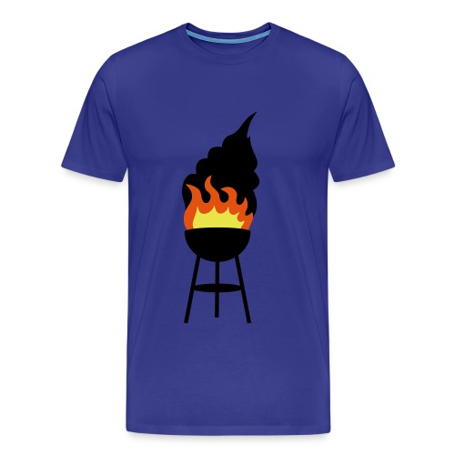 BBQ - Mannen Premium T-shirt