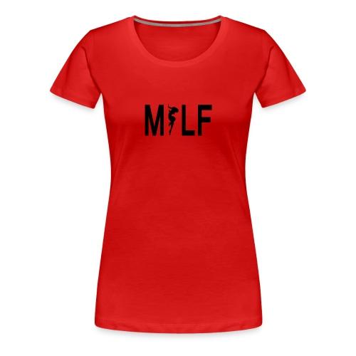 Ladies MILF t-shirt - Women's Premium T-Shirt