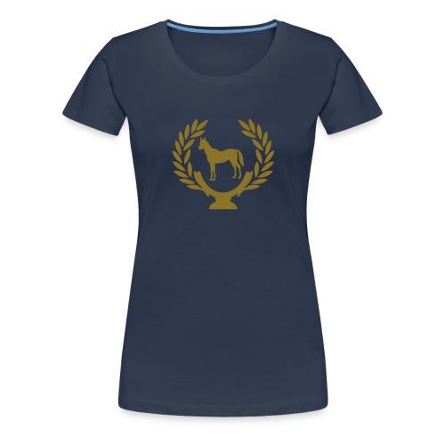 classic riding basic - Frauen Premium T-Shirt
