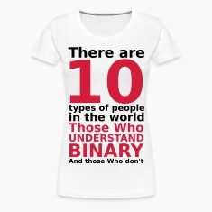 There are 10 types of people T-Shirts