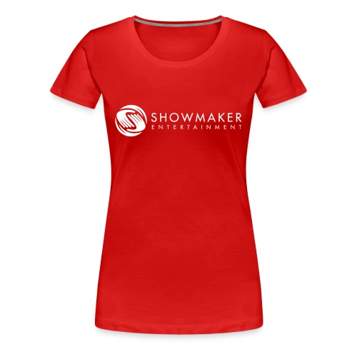 Showmaker Damen Shirt Logo weiß - Frauen Premium T-Shirt