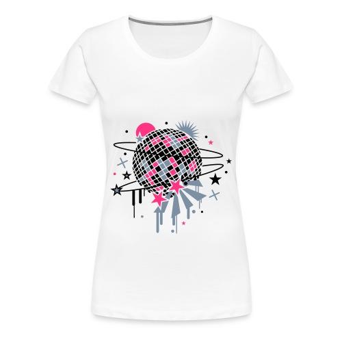 T-shirt Disco - T-shirt Premium Femme