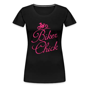 Biker Chick Women's Girlie Shirt