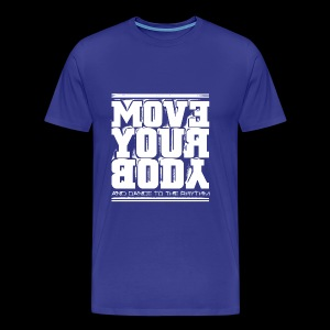 Move Your Body (white) - Premium-T-shirt herr