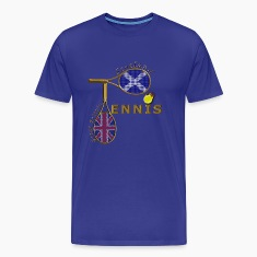 great britain scotland tennis T-Shirts