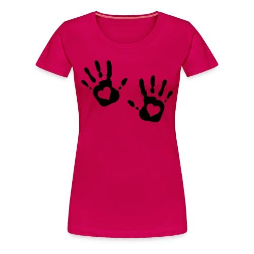 Love - Naisten premium t-paita