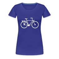 T-shirts ~ Vrouwen Premium T-shirt ~ Fiets