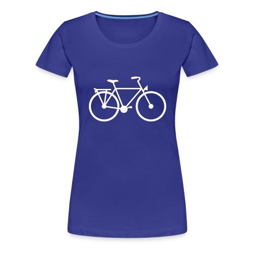 Fiets - Vrouwen Premium T-shirt