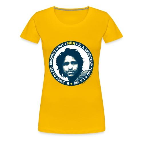 Nba - T-shirt Premium Femme