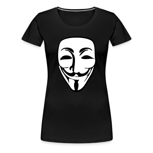 Anonymous Girls - Frauen Premium T-Shirt