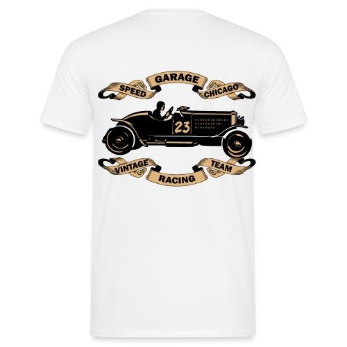 old racing car tee shirt - Men's T-Shirt