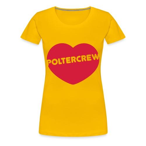 Poltercrew - Frauen Premium T-Shirt