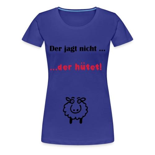 Aussie hütet - Frauen Premium T-Shirt