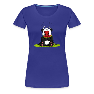 T-Shirts ~ Frauen Premium T-Shirt ~ Panda Oxe