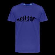 T-Shirts ~ Männer Premium T-Shirt ~ Snooker Evolution