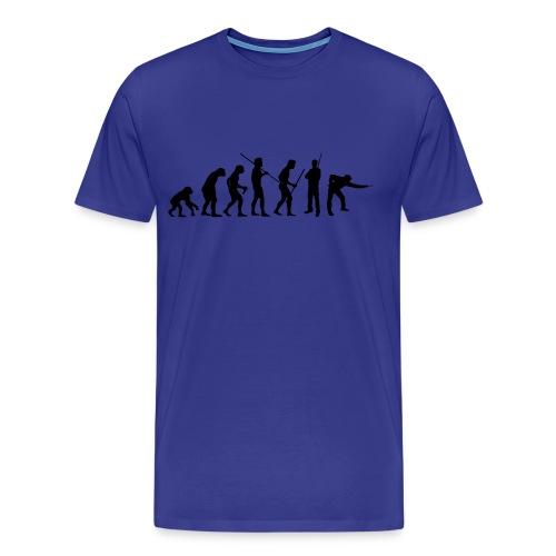 Snooker Evolution - Männer Premium T-Shirt