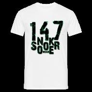 T-Shirts ~ Männer T-Shirt ~ snooker 147 wear