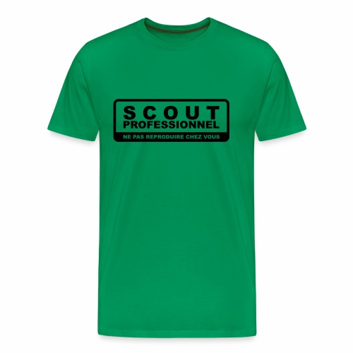 Scout Professionnel - T-shirt Premium Homme