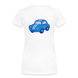 Racing Car - Frauen Premium T-Shirt