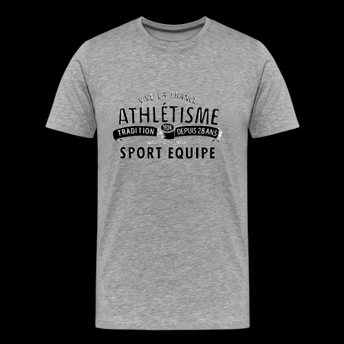 Sport Equipe (black) - Männer Premium T-Shirt