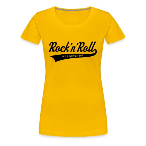 Rock`n Roll - Frauen Premium T-Shirt