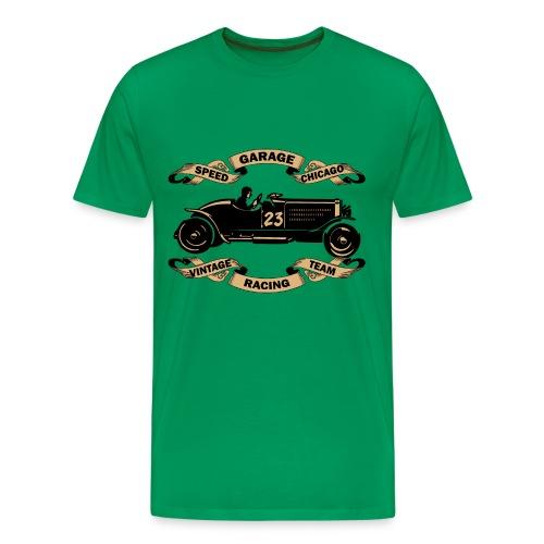 old racing car tee shirt - Men's Premium T-Shirt