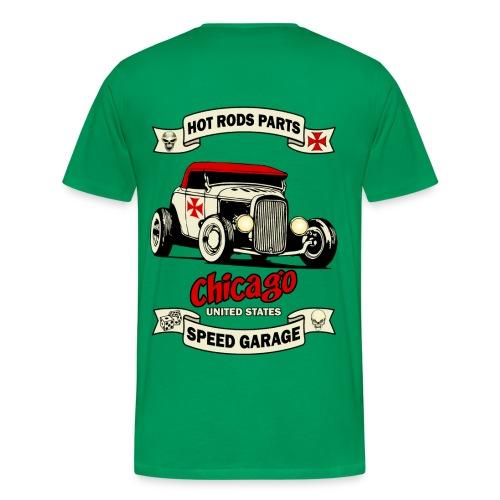 hot rod garage t-shirt - Men's Premium T-Shirt