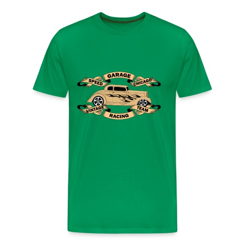 vintage car design t-shirt - Men's Premium T-Shirt