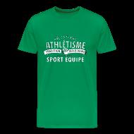 T-Shirts ~ Männer Premium T-Shirt ~ Sport Equipe (white)