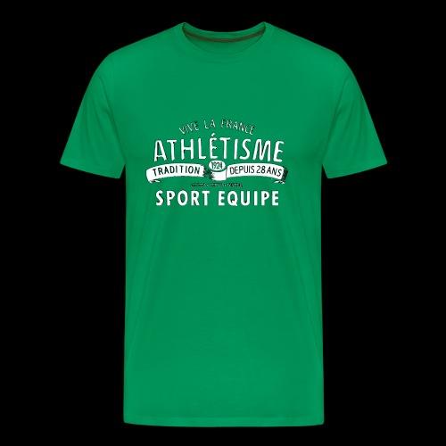Sport Equipe (white) - Männer Premium T-Shirt