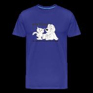 Camisetas ~ Camiseta premium hombre ~ mod. logo blanco hombre m/c
