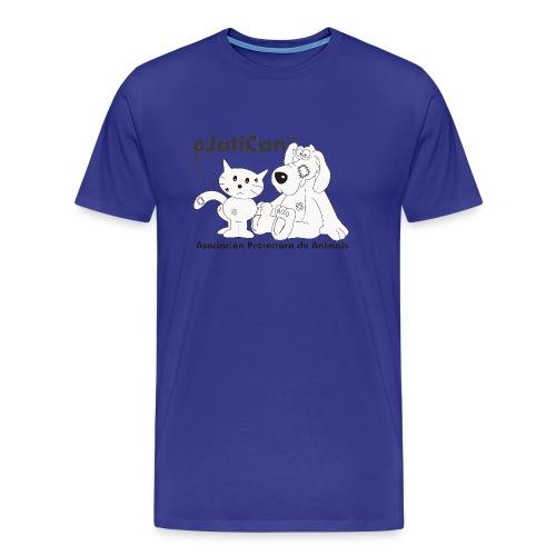 mod. logo blanco hombre m/c - Camiseta premium hombre