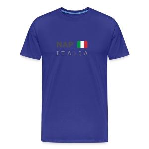 Classic T-Shirt NAP ITALIA dark-lettered  - Men's Premium T-Shirt