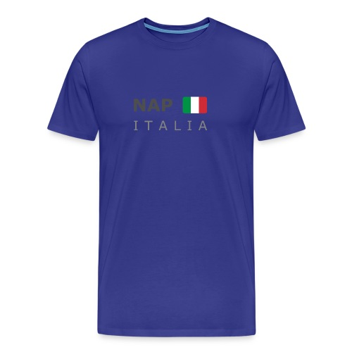 Classic T-Shirt NAP ITALIA dark-lettered  - Men's Premium T-Shirt