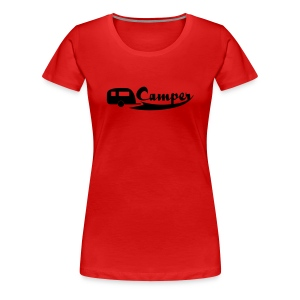 Camperslogan - Frauen Premium T-Shirt