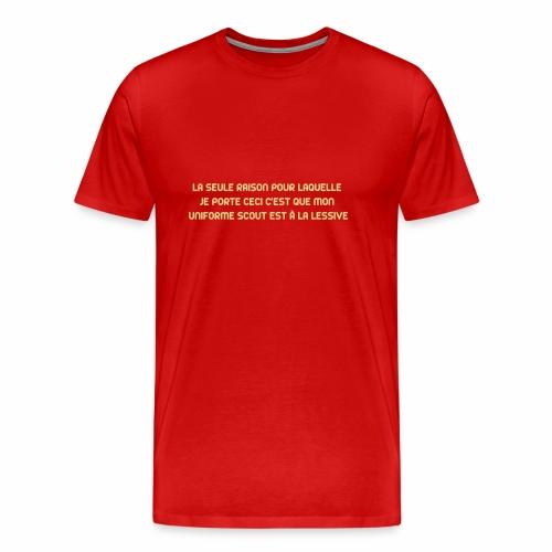 Uniforme à la lessive - T-shirt Premium Homme