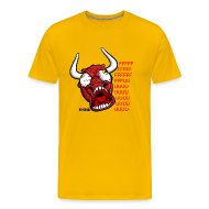 T-Shirts ~ Männer Premium T-Shirt ~ Rage Oxe