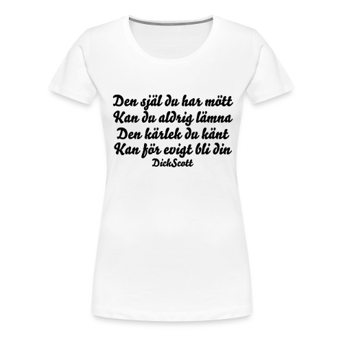 Woman´s Girlie Shirt - Women's Premium T-Shirt