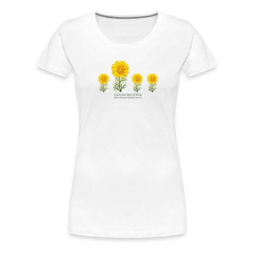 Damen Blumenwiese Happy Size - Frauen Premium T-Shirt