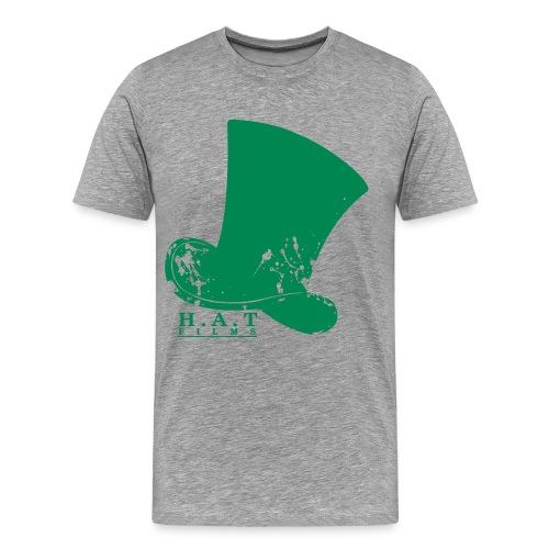 Official Hat Films Full Frontal (Green Logo) - Men's Premium T-Shirt