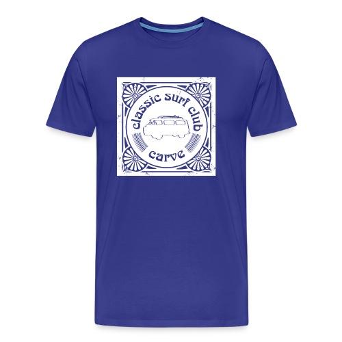 Classic Surf Club T #1 - Men's Premium T-Shirt