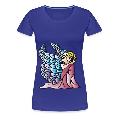 Engel Girlieshirt - Frauen Premium T-Shirt